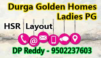 pg accomodation in Bangalore, pg in hsr layout bangalore, Durga golden homes, paying guest in bangalore