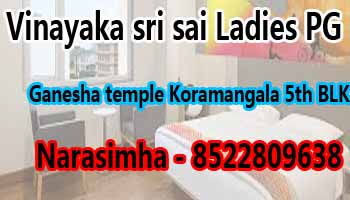 paying guest in bangalore for ladies, female pg best in bangalore